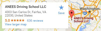 Driving-school-in-va-on-google-map